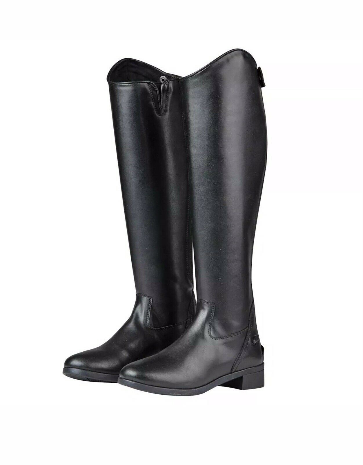 Nuevas botas De Equitación Ecuestre Saxon syntovia negro hombre o mujer (adulto tamaño de Reino Unido 6)
