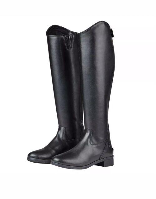 Black Riding Equestrian Boots Men
