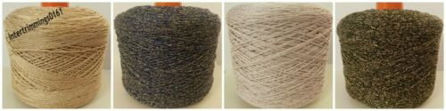 VARIOUS COLOURS AND LENGTH 1.5MM METALLIC BRAIDED NETTING TWINE ANORAK CORD