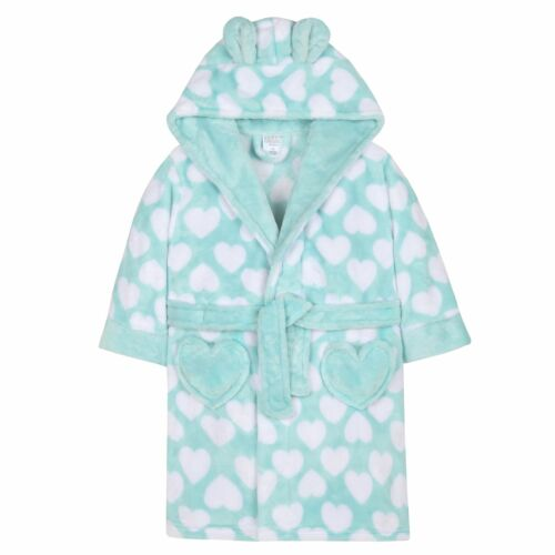 Girls//Boys Fleece Robe Kids//Childrens Dressing Gown Age 2-13 NEW