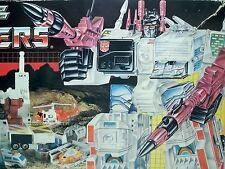 D1500941 METROPLEX LOOSE W/ BOX G1 TRANSFORMERS 1985 VINTAGE 100% COMPLETE