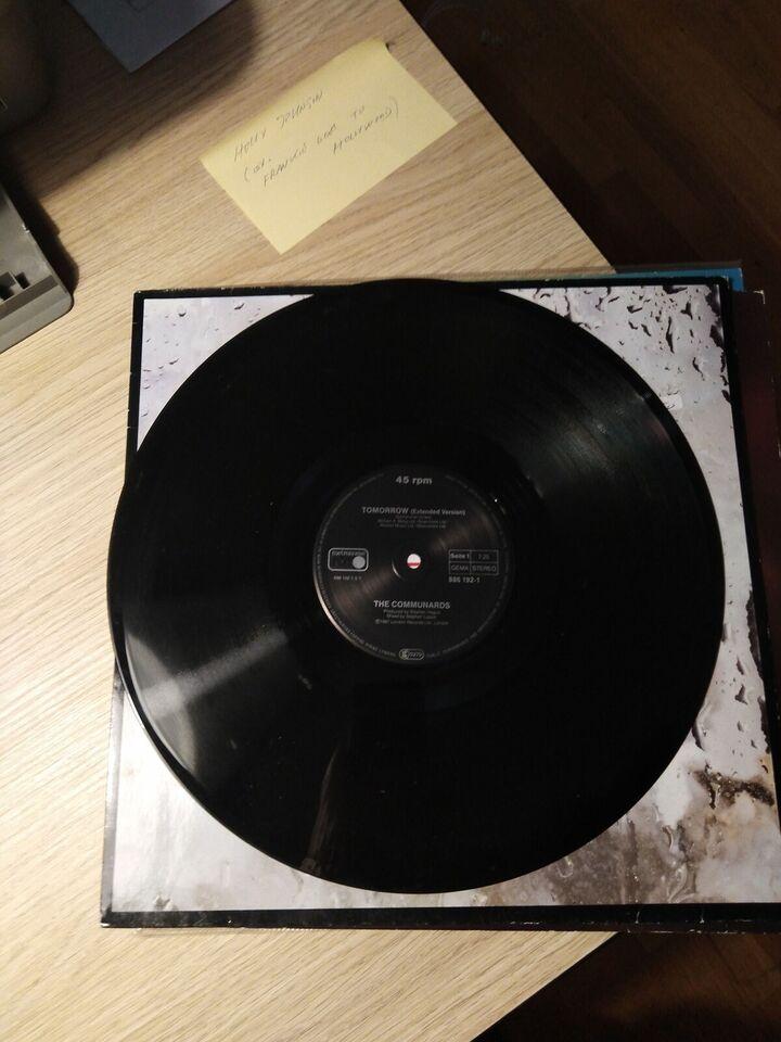"Maxi-single 12"", Communards, Tomorrow"