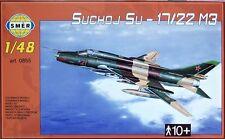 SUKHOI Su-17 M3/SU-22 M3 FITTER J/H (SOVIET AF MKGS) 1/48 SMER