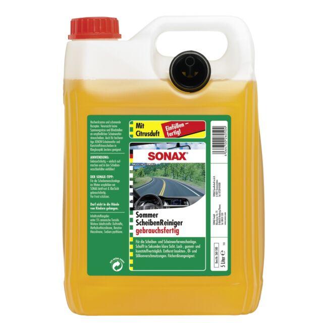 SONAX 02605000  ScheibenReiniger gebrauchsfertig Citrus 5 l