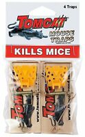 Tomcat Wooden Mouse Traps, 4-pack