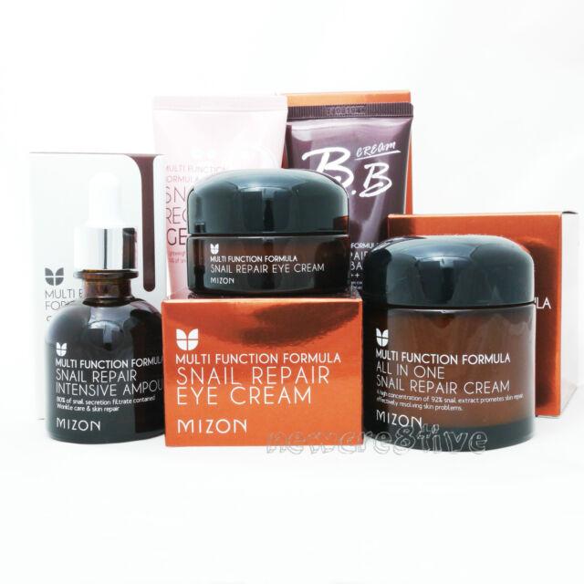 MIZON All In One Snail Cream + Ampoule + Eye Cream + Gel Cream + BB Cream Set