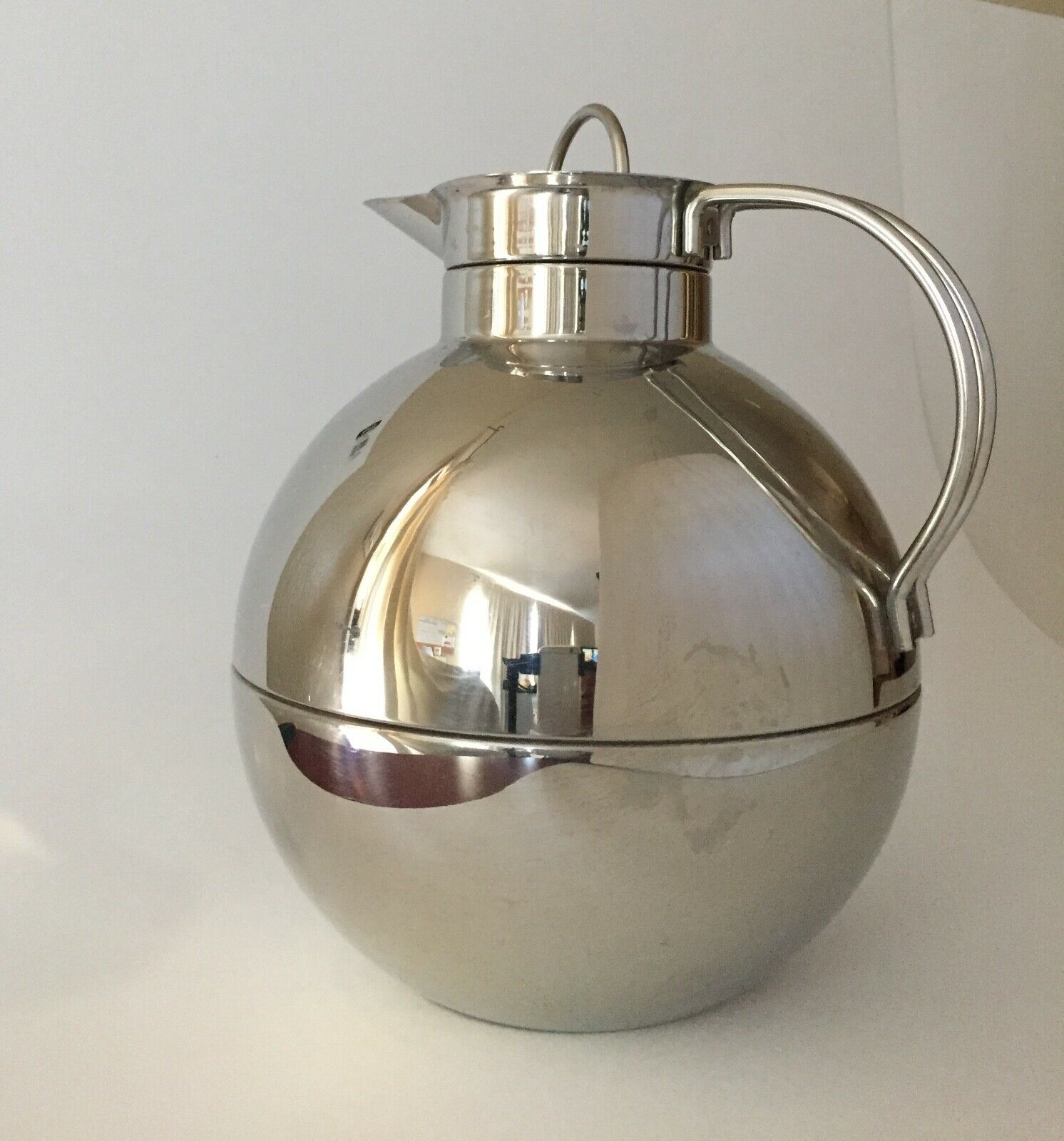 Alfi chaud froid thermique carafe Kugel en acier inoxydable, 101-1.5 litres