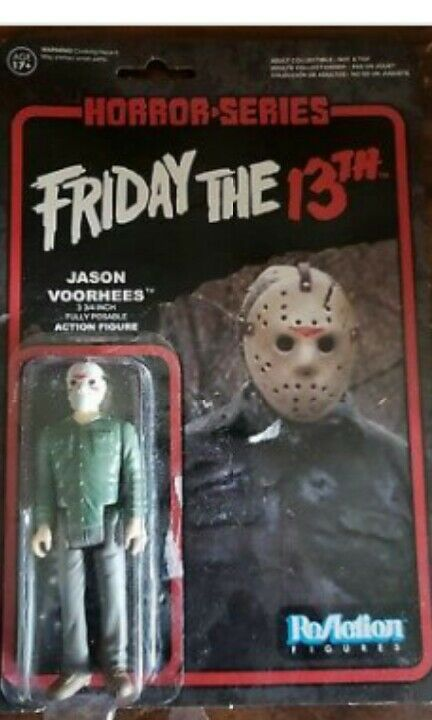 Reaktion horror - serie war jason voorhees 3,75  - figur
