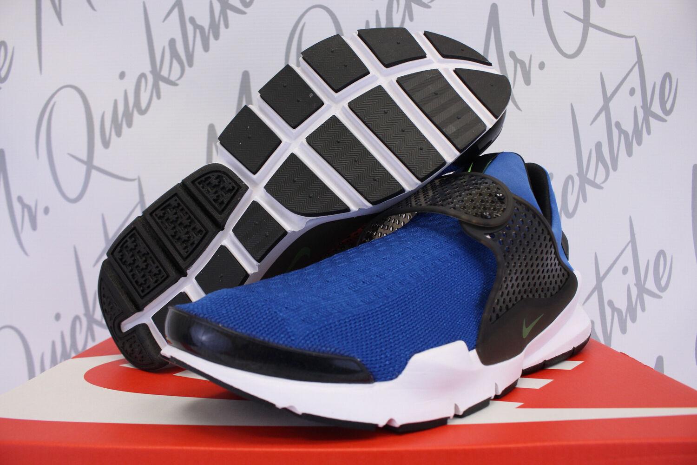 Nike - dart kjcrd sz 11 blaue jay volt - volt jay - star blau - schwarz anziehen, 819686 405 609e17