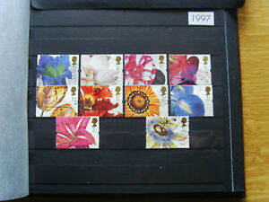 'GB STAMPS - 1997 - COMMEMORATIVE ISSUES' - MNH/USED