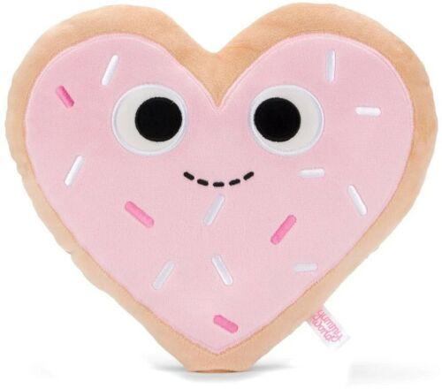 Yummy World Haylee Heart Cookie 10-Inch Plush
