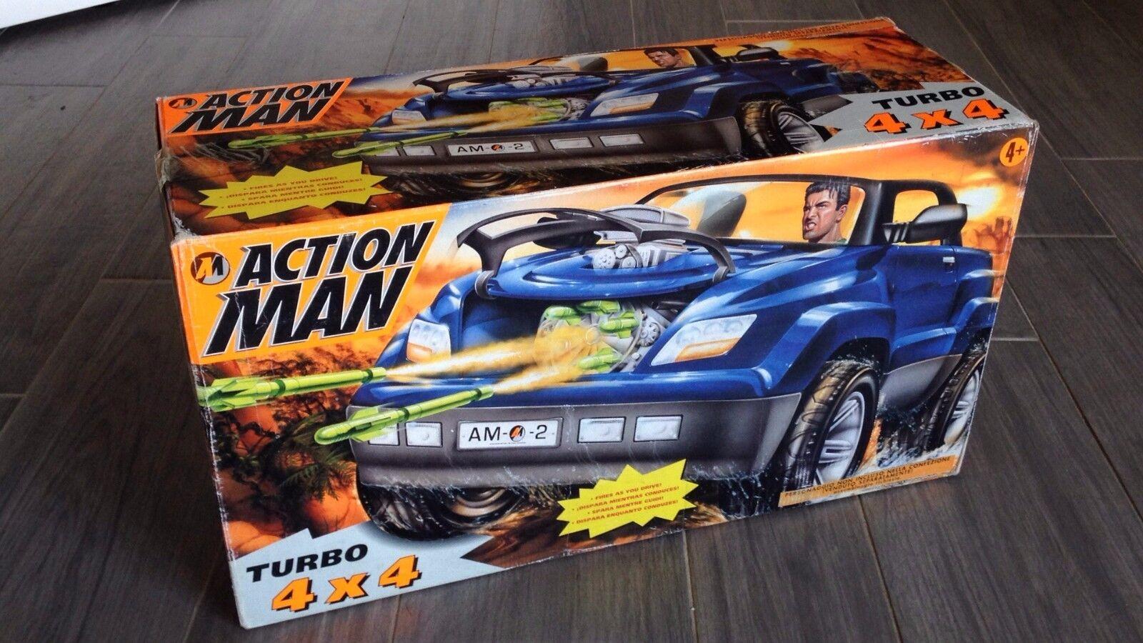 HASBRO GIG ACTION MAN mission TURBO 4x4 4 x 4 new jeep fuoristrada suv SEALED
