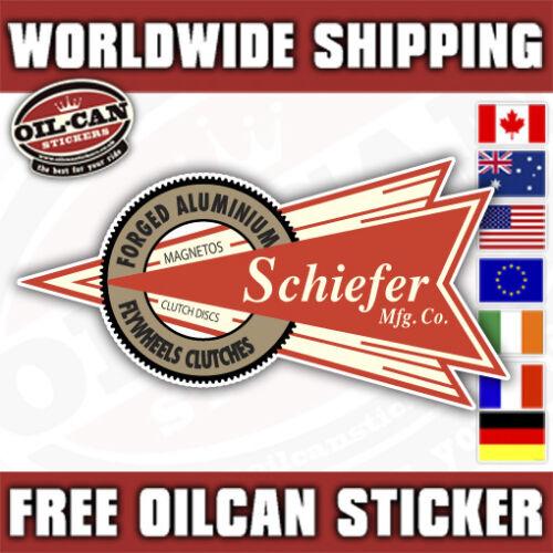 Scheiffer Magnetos vintage speed sticker 120mm x 65mm