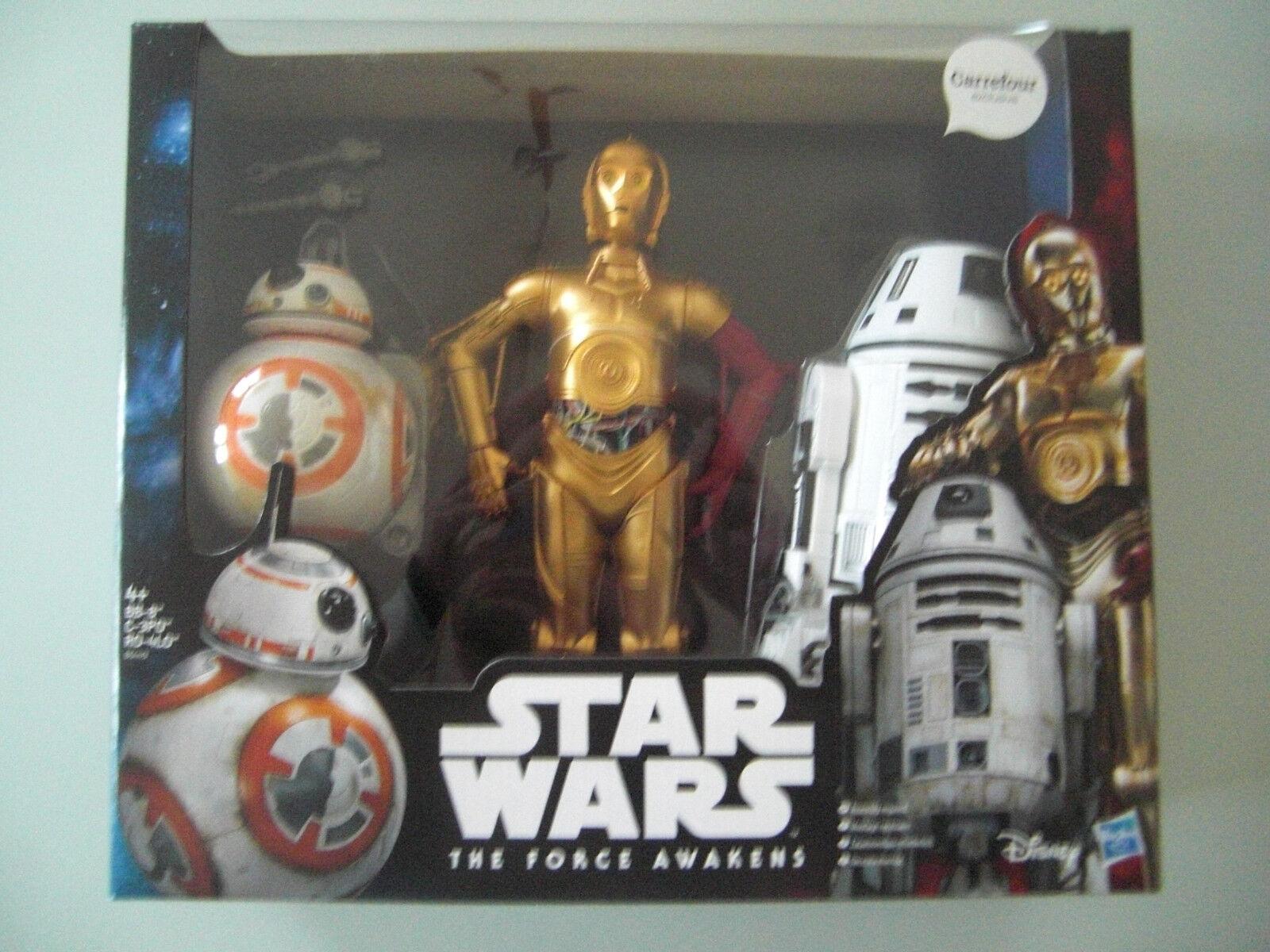 Figurine StarWars : STAR WARS FIGURINES EXCLUSIVES 12 POUCES DROIDS BB-8 C-3PO ET RO-4LO EN BOITE