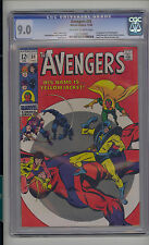 Avengers #59 CGC 9.0 VF/NM Unrestored Marvel 1st Yellowjacket OW/W Pages