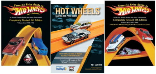 Vol 1 /& 2  Plus 2017 HW Casting Guide Tomart/'s Hot Wheels Price Guides 6th Ed