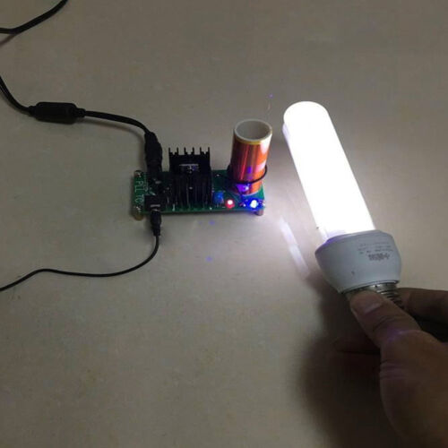 Mini Tesla Coil Plasma Speaker Kit Electronic Field Music 15W DIY Project BBC