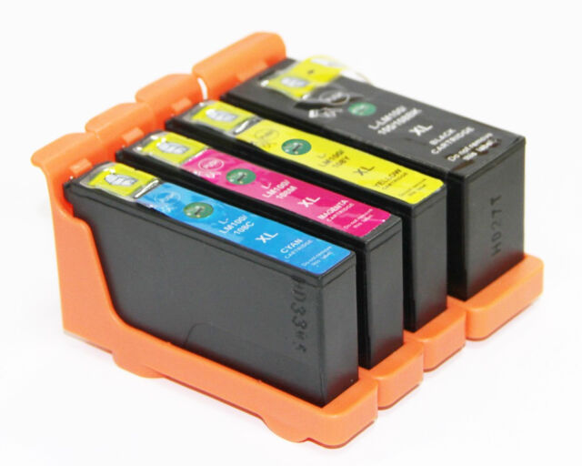 4 Ink Cartridge for Lexmark 100XL P205 P705 P805 P905 S508 S505 S405 Printe