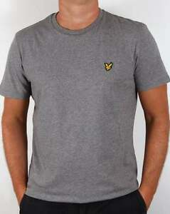 Lyle-and-Scott-T-shirt-in-Mid-Grey-Marl-short-sleeve-cotton-crew-neck