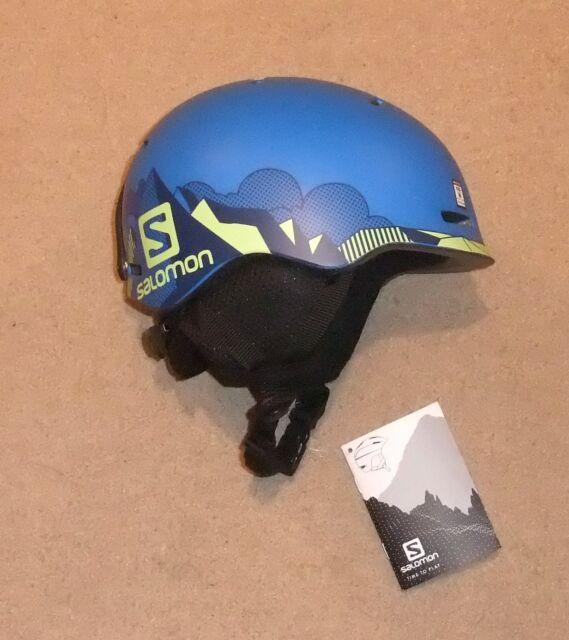 e7ccfe80b3 Salomon Grom Kid Ski Helmet Medium 53- 56 Cm Pop Blue Matt