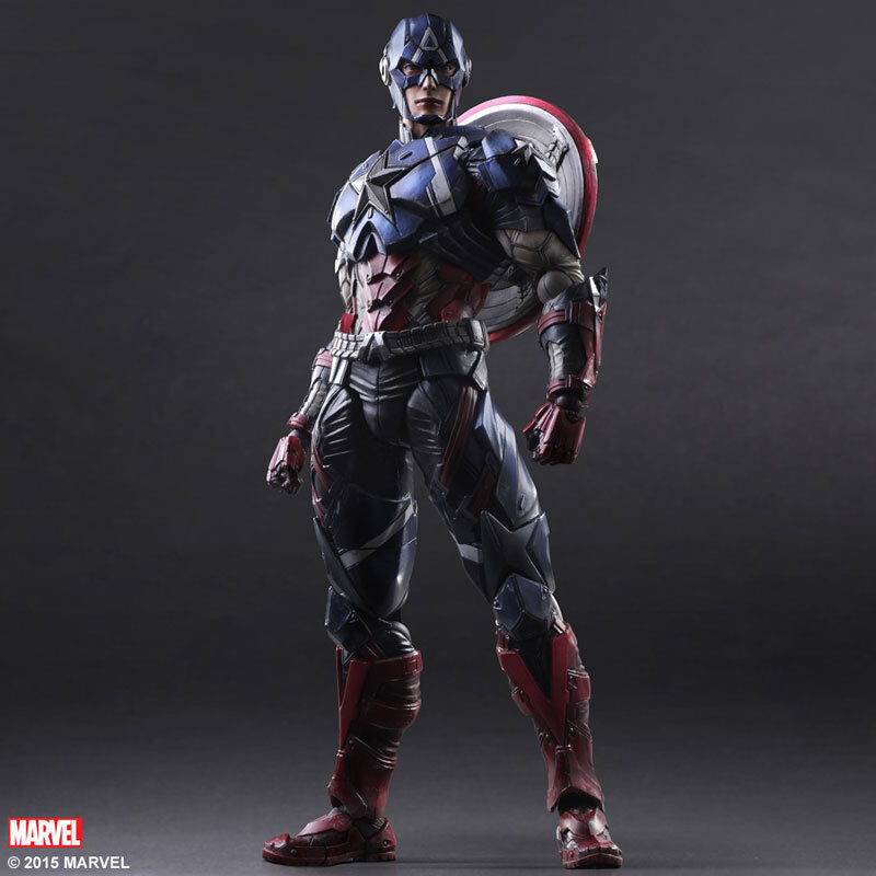 Play Arts Kai - Captain  America (Marvel Universe)  nuovo di marca