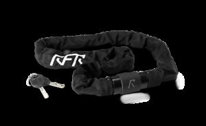 6 x 1000 mm schwarz//weiß black´n´white Fahrradschloss RFR Kettenschloss
