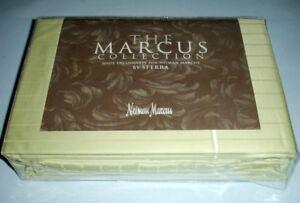 Sferra Marcus Stripe Green King Sheet Set 4 PC. 400 TC Pima Cotton Sateen New