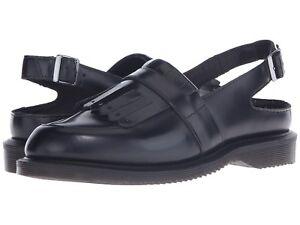 c8c52c59a42 Dr. Martens Valentine Sling Back Tassel Black Leather US 11 UK 9 EU ...