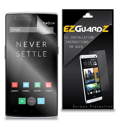 3X EZguardz Screen Protector Cover Shield HD 3X For OnePlus One (Ultra Clear)