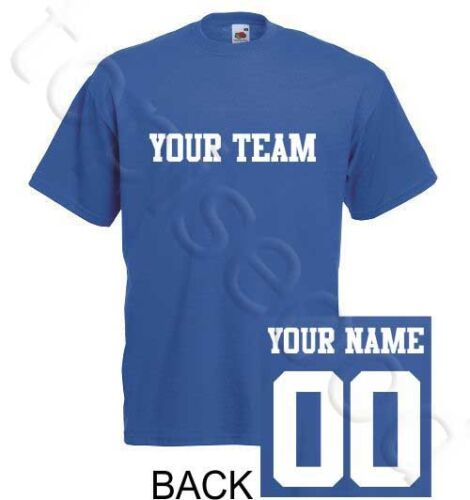 Tampa Bay Lightning T-Shirt JERSEY NHL Personalized Name Number Team Hockey