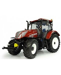 5375 Universal Hobbies New Holland T6.175 Tracteur Fiat 100 Années 1:32 en boîte