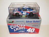 1997 Robby Gordon 40 Coors Light Silver Bullet 1:24 Chevy Monte Carlo Coa
