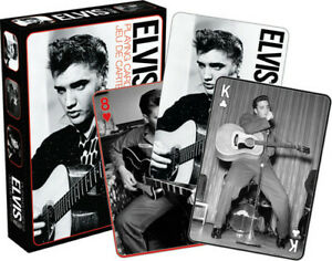 Elvis Black and White Playing Cards Deck New