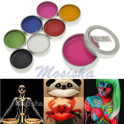 IMAGIC Professional Face Body DIY Grease Painting Oil Art Party Fancy Makeup M*