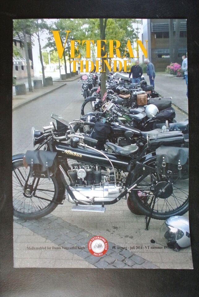 veteran tidende nr. 457 2014 58. årgang, emne: bil og motor