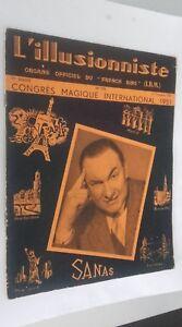 EL ILUSIONISTA Revista Dibujada N º 176 17è Annee 3è Cuarto 1951 ABE