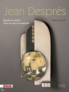 Jean Despres Jeweler and silverware of the Art-Deco - France - Jean Despres Jeweler and silverware of the Art-Deco Jean Despres Jeweler and silverware of the Art-Deco This wonderful book with 248 pages and 350 B/W and color illustrations presents the jewelry and silverware made by Jean Després (1889 - 1980) - France