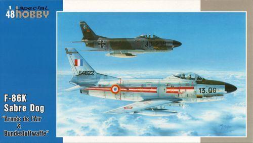 Special Hobby 1 48 North-American F-86k Armee de L'Air & Bundesluftwaffe