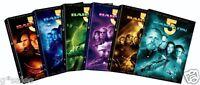 Babylon 5 Complete Series Season 1-5 + Movies (1 2 3 4 5 + Movies) Dvd Set