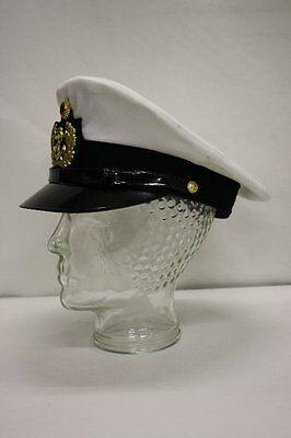Peaked Cap Captain's Hat Officer Size 57 Cap Navy German Navy Gorch Fock