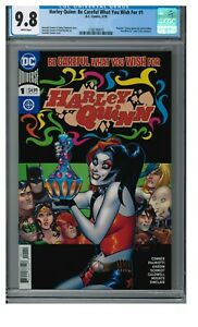 COVER A /& B VARIANT SET HARLEY QUINN BE CAREFUL WHAT YOU WISH FOR #1