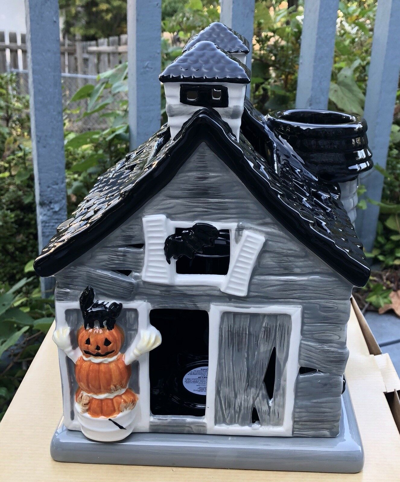 Super Rare  Bath & Body Works 2016  Haunted Barn  Halloween Candle Luminary