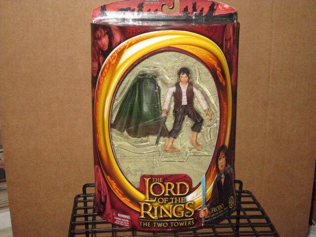 2002 lord ringen zwei türme frodo light-up sting schwert actionfigur mip