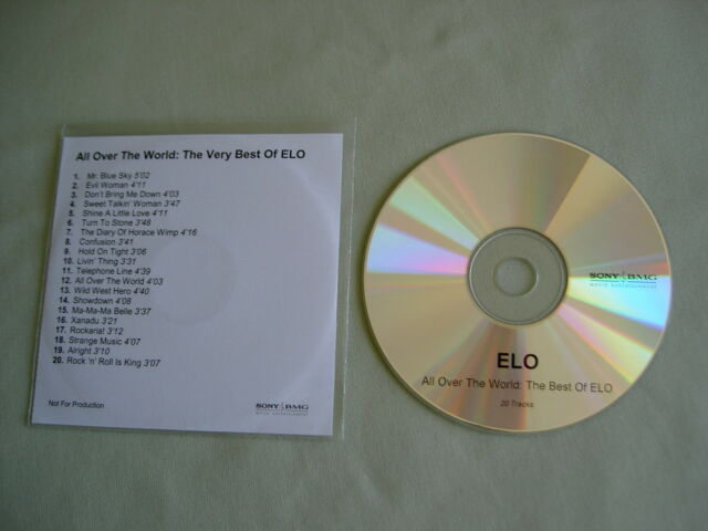 ELECTRIC LIGHT ORCHESTRA All Over The World: The Very Best Of ELO 2005 promo CD