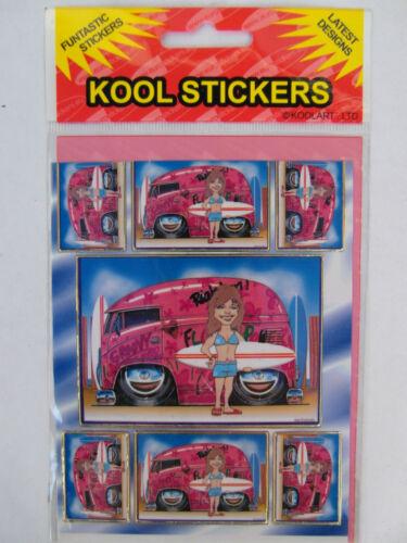 KOOL ART CAR STICKERS stocking filler xmas Choice of variety of models!