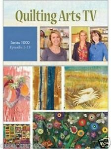 Details About Quilting Arts Tv Series 1000 With Pokey Bolton 4 Dvd Set Episodes 1 13