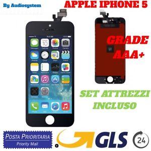 LCD-display-Touch-screen-fuer-APPLE-IPHONE-5-Schwarz-Netzhaut-Glas-A1442-A1428