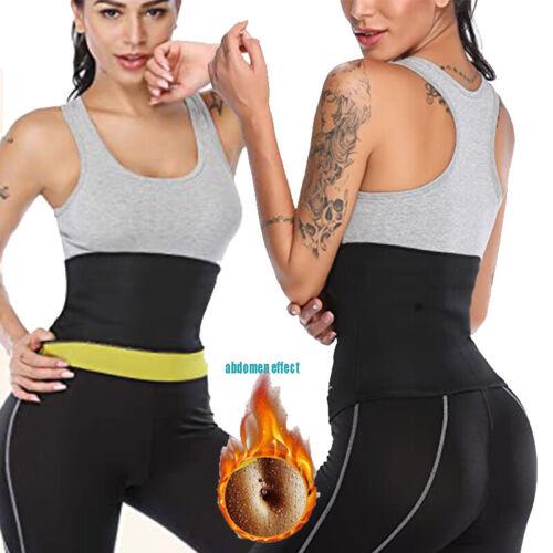 Thigh Trimmer High Waist Trainer Body Shaper Butt Lifter Sweat Hot Exercise Belt