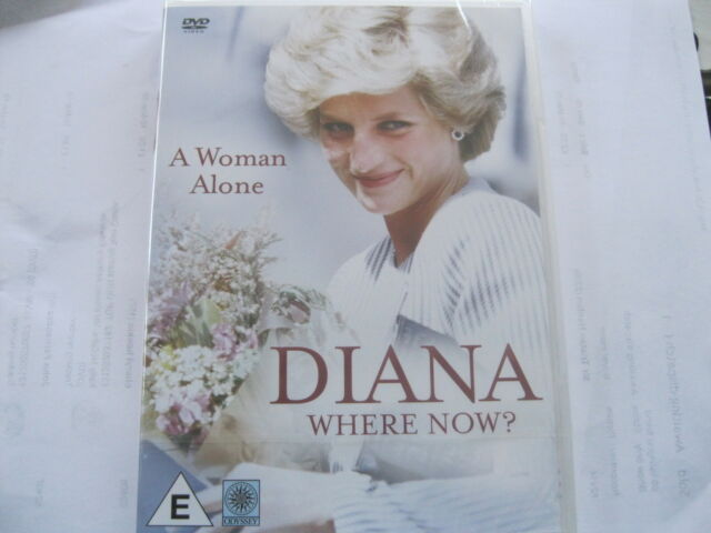 DIANA WHERE NOW? - A WOMAN ALONE  - NEW  {DVD}