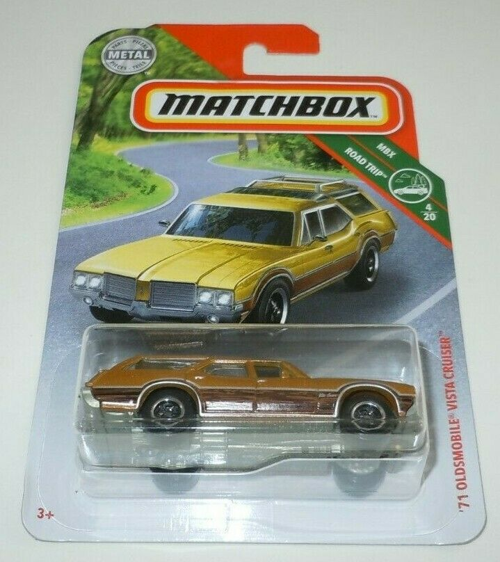 71 Oldsmobile Vista Cruiser Matchbox ERROR New Sealed Wrong Way MISPRINT 1971